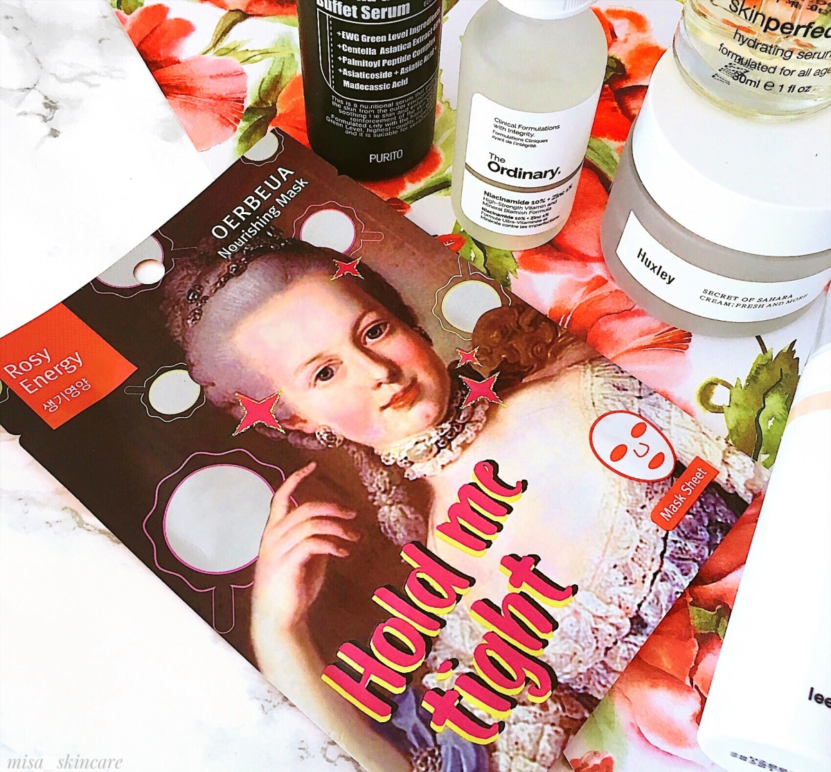 Review Dr.Gloderm Oerbeua Nourishing Mask- Hold Me Tight*