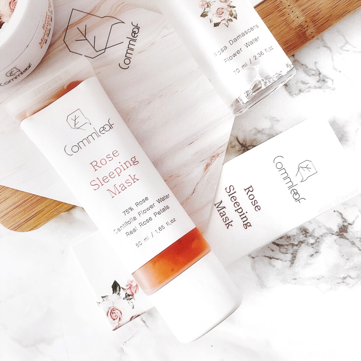 Bright, nourished&hydrated skin: review Commleaf Rose Sleeping Mask*